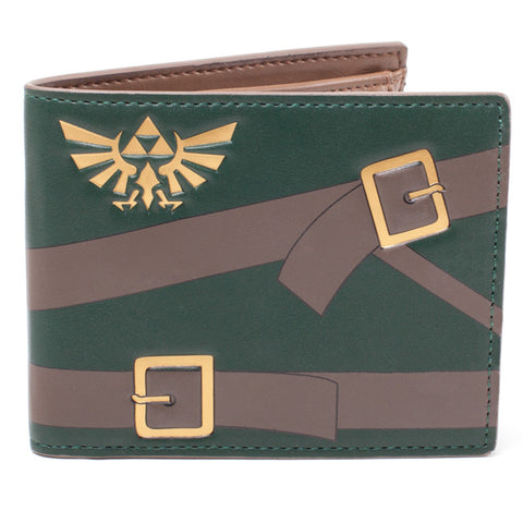 The Legend of Zelda Link Uniform Inspired Bi-Fold Wallet