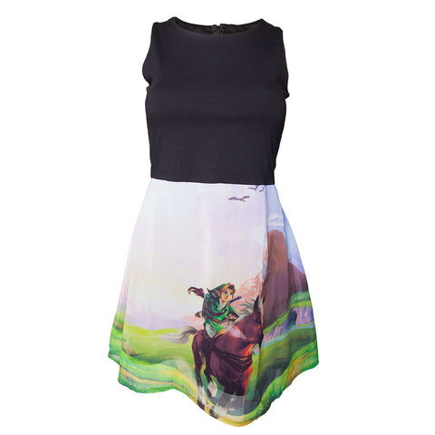 Zelda Ocarina of Time A-Line Dress
