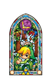 Zelda Stained Glass Wall Decal (Boomerang)