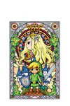Zelda Stained Glass Wall Decal (Princess)