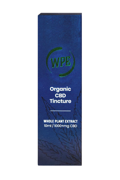 WPE 10ml Organic CBD Oil Tincture (1000+MG) #