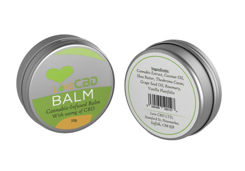 Love CBD 10g CBD Balm Pot
