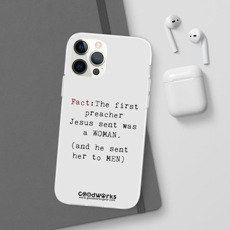Fact - Flexi Phone Case (Frosted Transparent, Multiple Models)