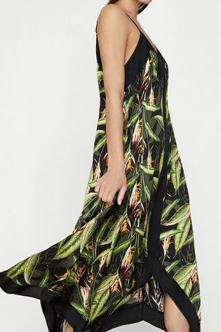 BCBGMAXAZRIA Bird Of Paradise Dress