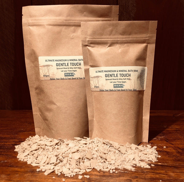 Gentle Touch Magnesium & Mineral Bath Soak: A loving embrace