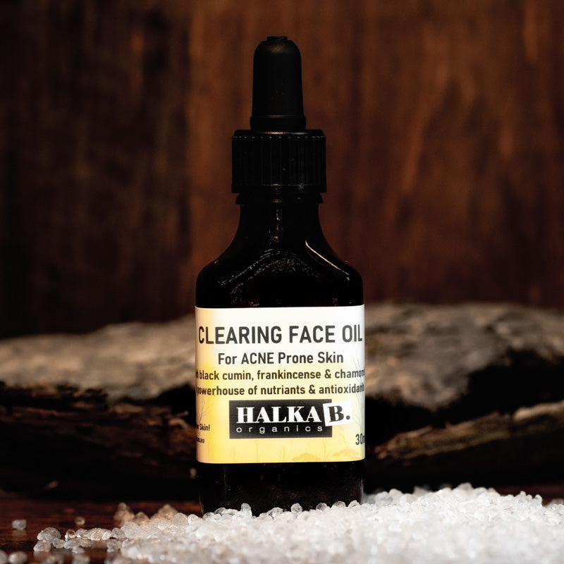Clearing Face Oil for Acne Prone Skin