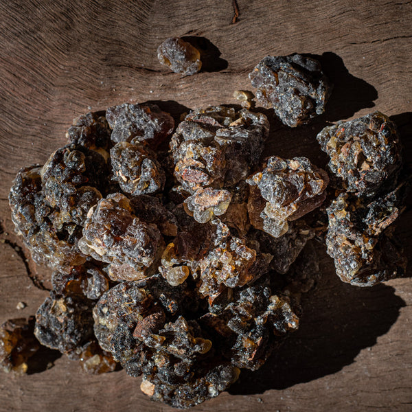 Black Hojari Frankincense Resin