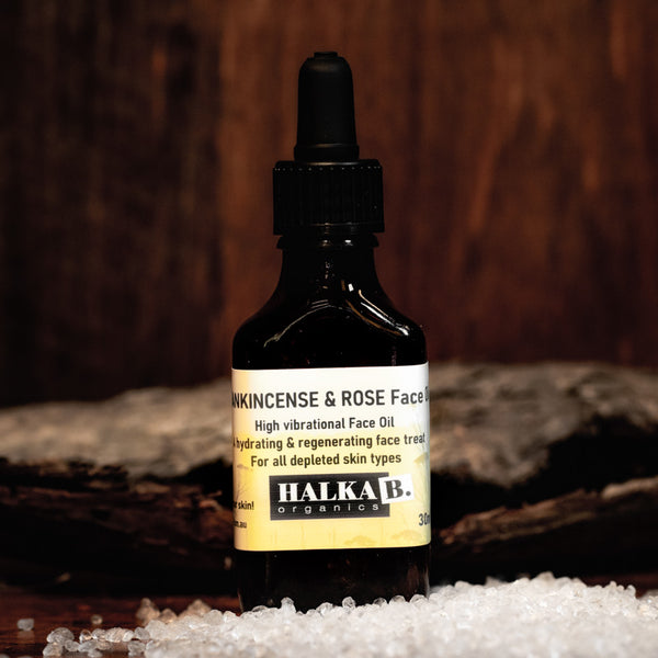 Frankincense & Rose Face Oil for all skin types