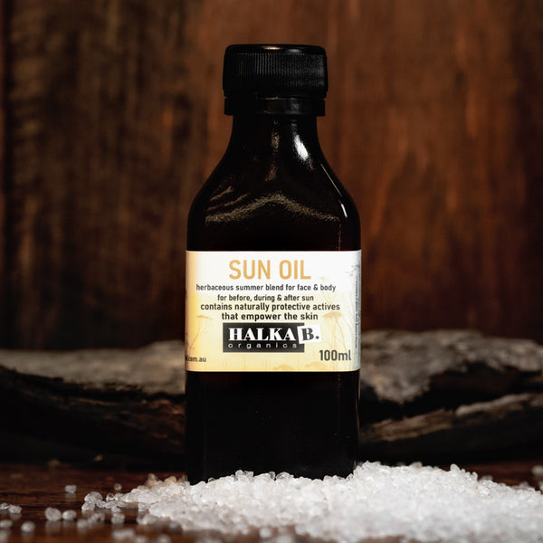 Sun Oil - Before, During and After the Sun