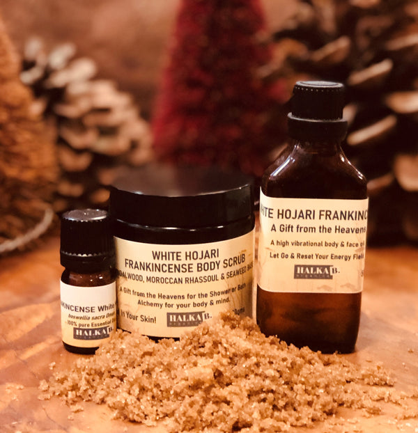 White Frankincense Bliss TRIO  A gentle lemony limy heavenly Experience