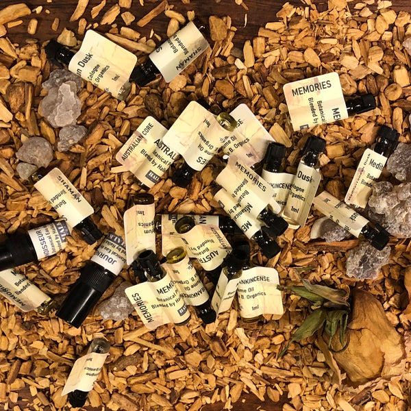 Natural Perfume Oil SAMPLES 1ml