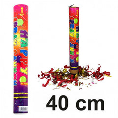 40 cm Party Popper -  Konfettishooter / Folien-Konfetti (ab € 1,30)