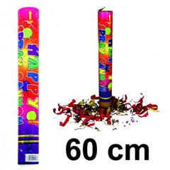 Party Popper -  Konfettishooter / Folien-Konfetti 60 cm (ab € 1.49)
