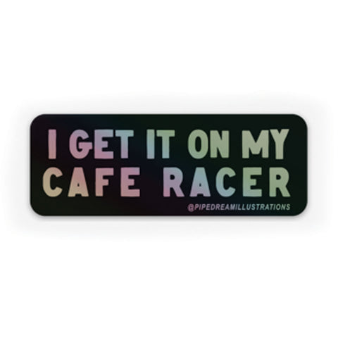"Cafe Racer Holographic 3"" Sticker"