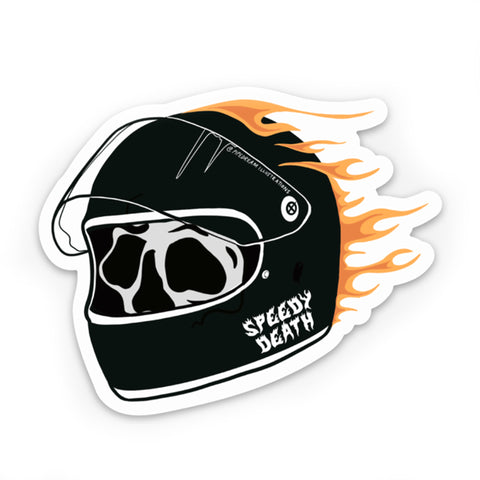 "Speedy Death 3"" Sticker"