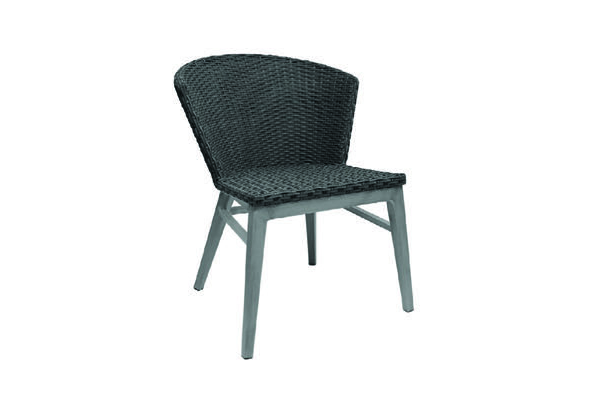 Emu Americas 1010-74/500 EMU AMERICAS-ELLY-SIDE CHAIR - GREY + DRIFTWOOD