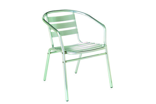 Emu Americas 1101-00-00 EMU AMERICAS-SARA-ARM CHAIR - POLISHED ALUMINUM