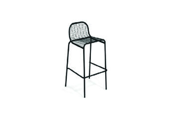 Emu 216-24 EMU-CENTINA BAR OR COUNTER-BAR STOOL - ANTIQUE BLACK