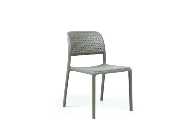 Nardi 40243.10.000 NARDI-BORA BISTROT-SIDE CHAIR - TORTORA