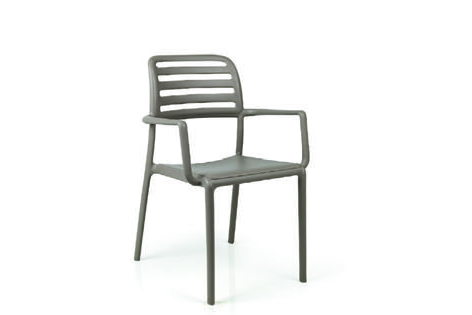 Nardi 40244.10.000 NARDI-COSTA-ARM CHAIR - TORTORA