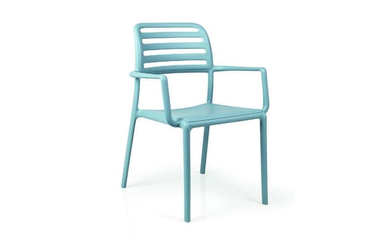 Nardi 40244.39.000 NARDI-COSTA-ARM CHAIR - CELESTE