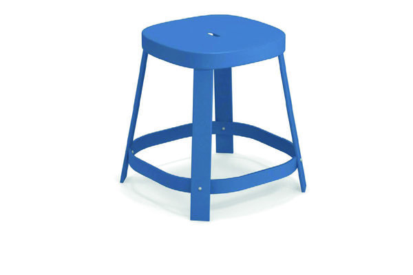 Emu 658-16 EMU-THOR-DINING STOOL - ANTIQUE MARINE BLUE