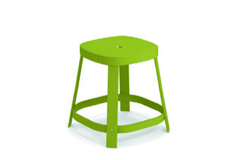 Emu 658-60 EMU-THOR-DINING STOOL - ANTIQUE GREEN