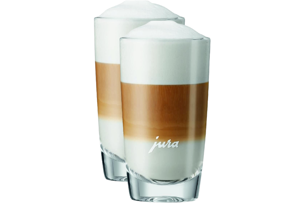 Jura 71473 Latte Macchiato Glasses without saucer – (Set of 2)