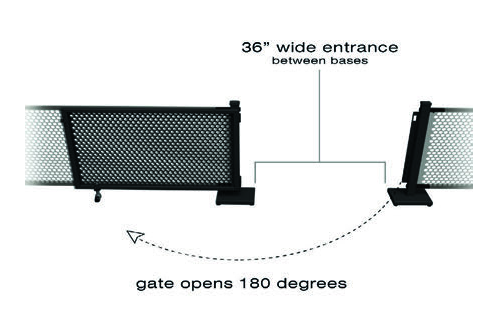 Select Space Partitions GS001-PLUS2-001 SELECT SPACE PARTITIONS-GATE SET STRAIGHT STANDS-SET INCLUDES 1 GATE PANEL - 1 H