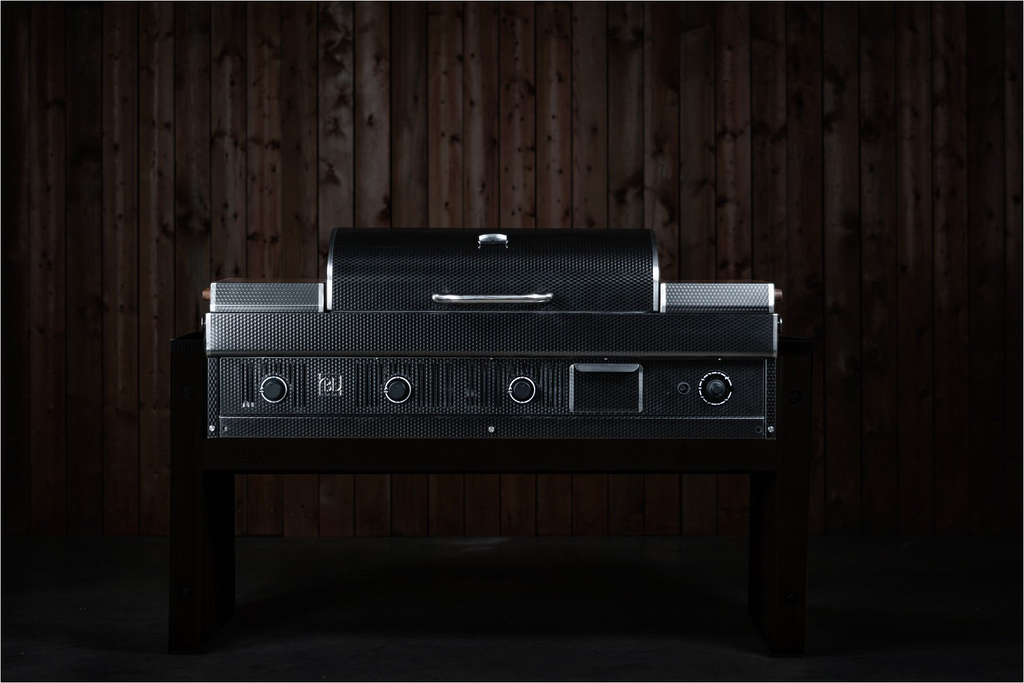 Black Earth M83-2050 Hybrid Grill-Built-In
