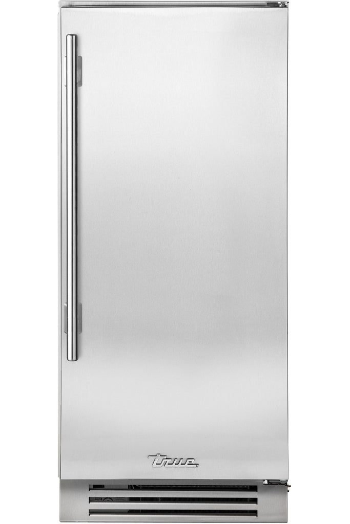 True-Residential TUI-15-R-SS-B 15inch Undercounter Clear Ice Machine - Stainless Steel/Right Hinged