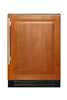 True-Residential TWC-24-R-OP-B Solid Panel Ready/Right Hinged - 5 Pullout Wine, 1 Floor Cradle
