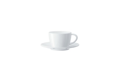 Jura  66502 White Cappuccino Cups/Saucers. Gift Box - Set of 6