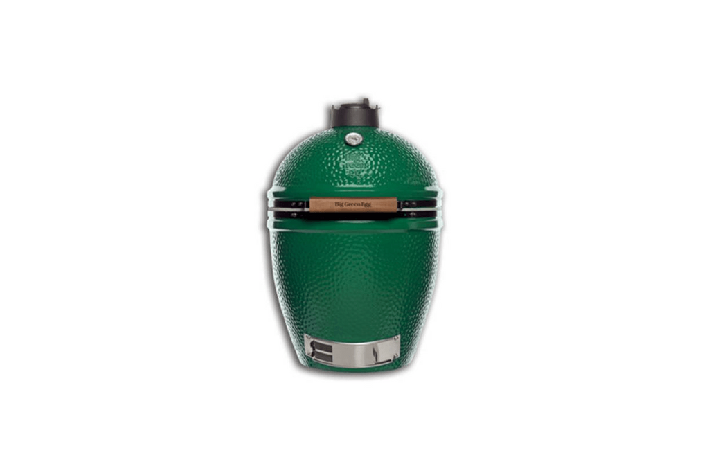 Big Green Egg 117632 Single LARGE EGG with Stainless Steel Grill, NEW Acacia Handle and NEW rEGGulato
