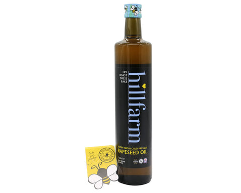 Hillfarm Extra Virgin Cold Pressed Rapeseed Oil