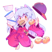 Load image into Gallery viewer, Inuyasha charm