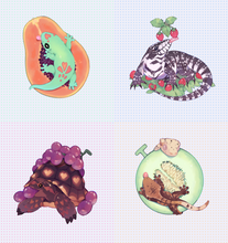 Load image into Gallery viewer, Scaly Frugivore charms