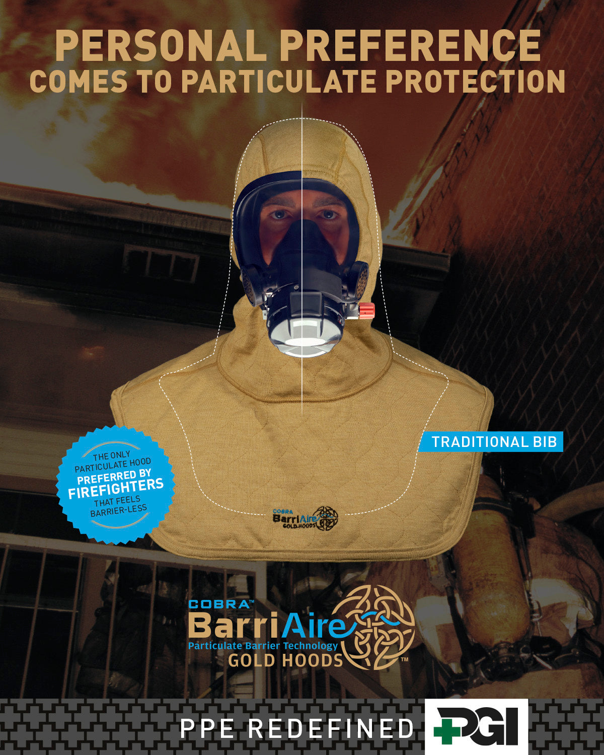 BarriAire Gold Particulate Blocking Hoods