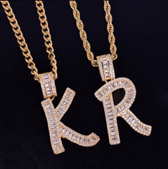 Baguette Name Necklace (PREORDER)