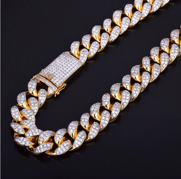 Premium Cuban Iced Necklace