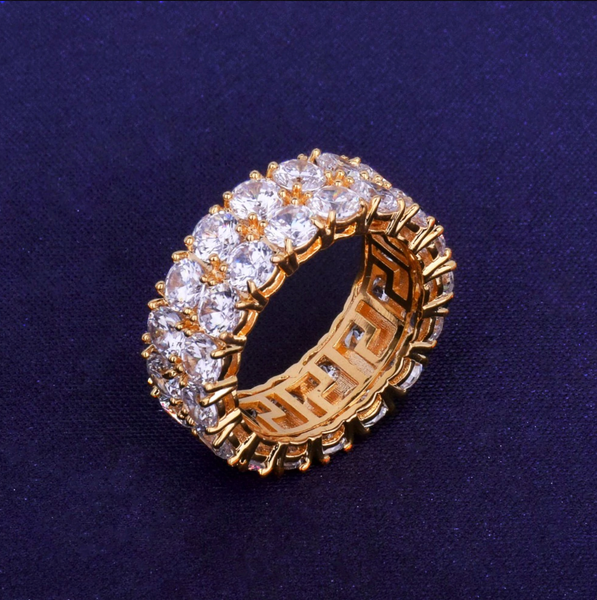 Twin Diamond Tennis Ring