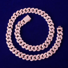 Barbie Iced Cuban Necklace