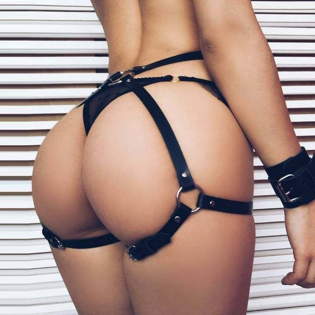 Buttocks Bandage Harness Belt