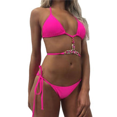 Crystal Two Piece Bikini - crown-modern