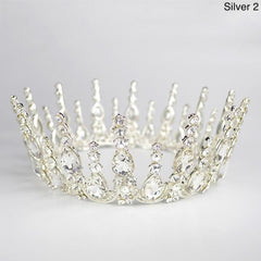 Multicolored Crystal Luxury Crown - crown-modern
