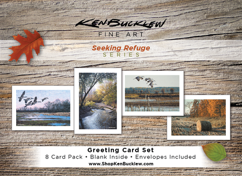 Seeking Refuge - Greeting Card Set (8 Cards and Envelopes)