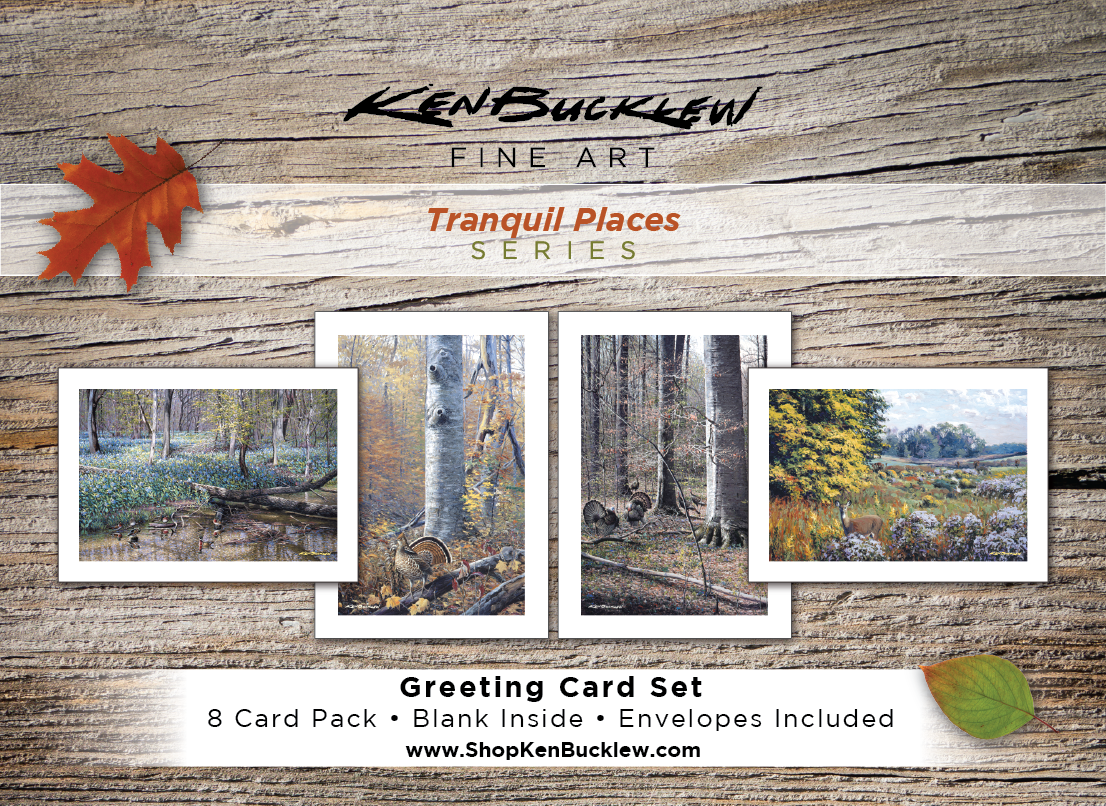 Tranquil Places - Greeting Card Set (8 Cards and Envelopes)