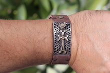 Load image into Gallery viewer, Armenian Gold Cross Bracelet KHACHKAR