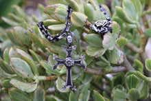 Load image into Gallery viewer, Armenian Cross And Chain Necklace