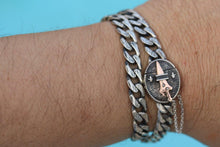 Load image into Gallery viewer, Double Wrap Cuban link dagger Bracelet